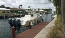 South Florida dock and boat lift